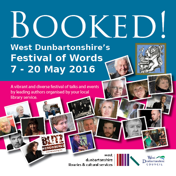 West Dunbartonshire Council - Booked! Festival 2016 front cover