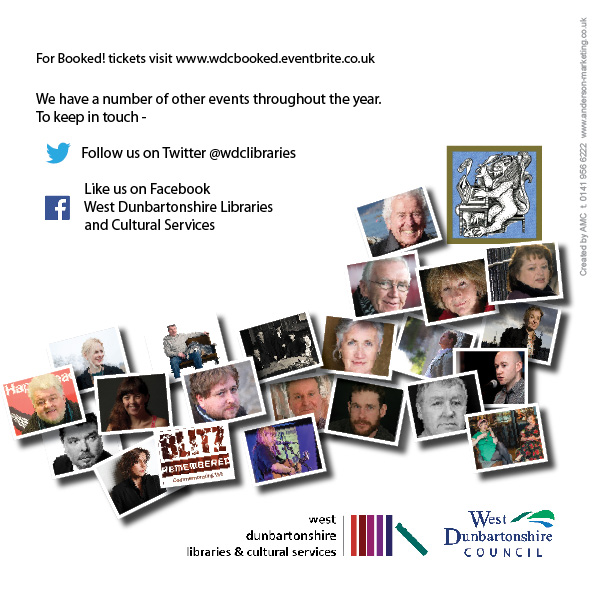West Dunbartonshire Council - Booked! Festival 2016 back cover